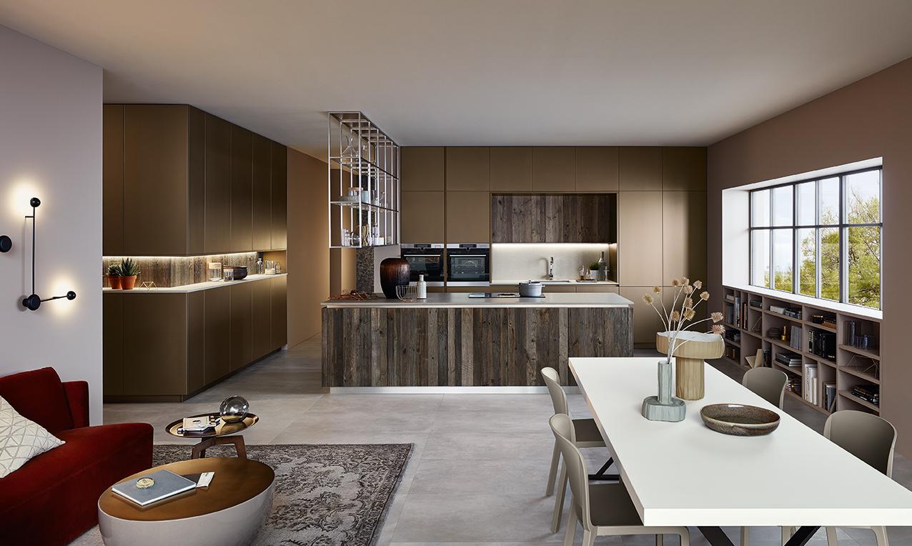 Lounge eleganza in cucina livingcorriere - Veneta cucine lounge ...