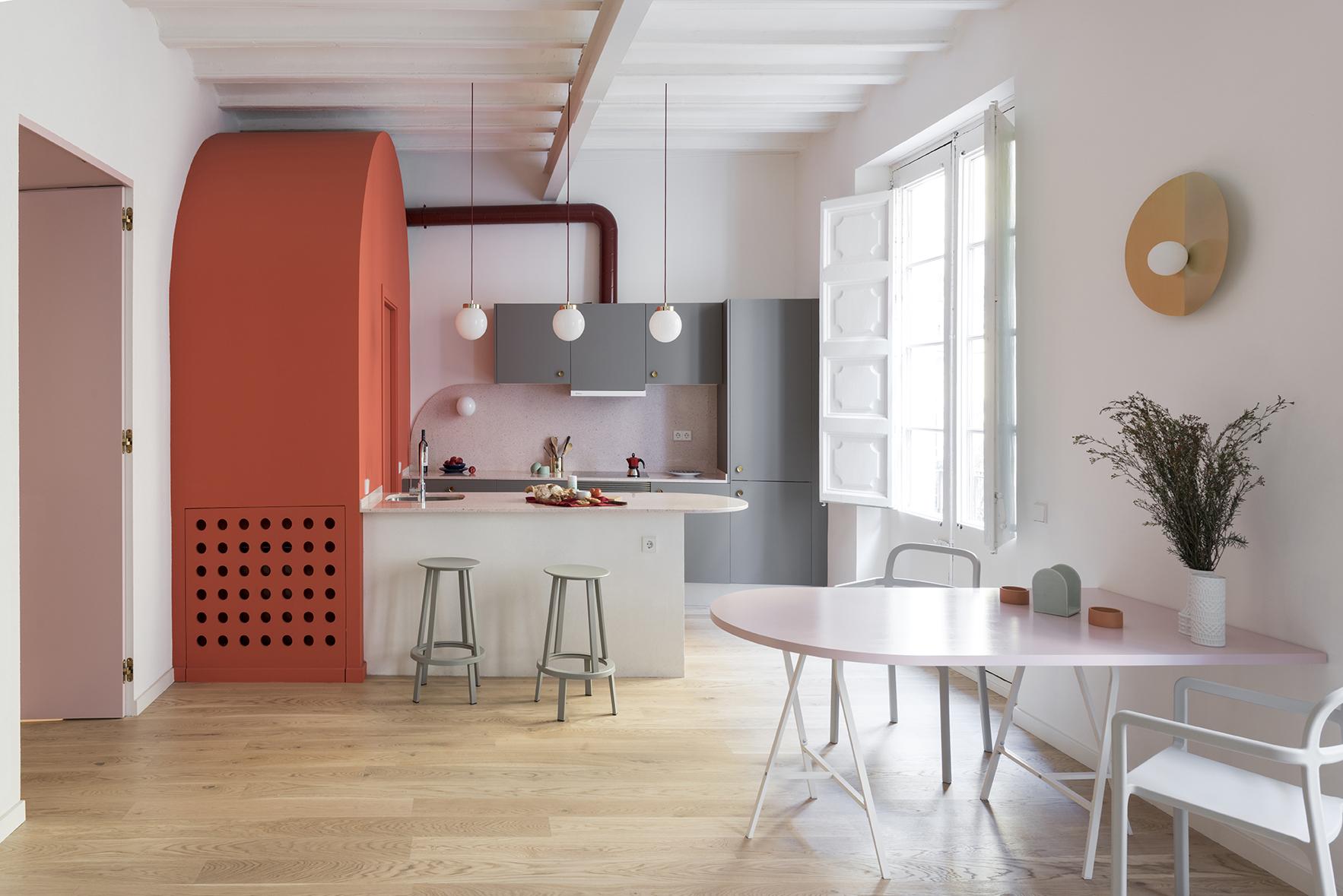 Case di 65 mq trasformazione a colori livingcorriere for Appartamento new design roma lorenz