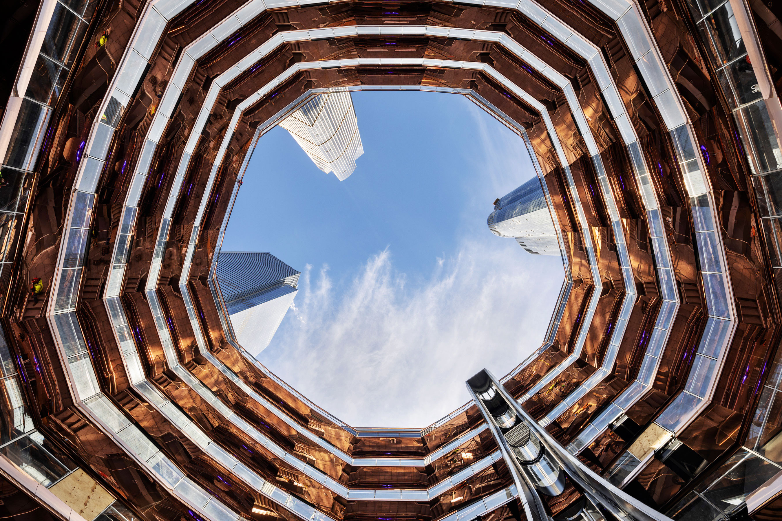 The Vessel, la torre di scale di New York – Foto