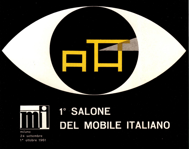I manifesti storici del salone del mobile for Salone del mobile palermo