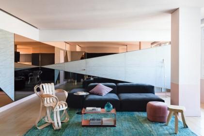 Arredamento d 39 interni le ispirazioni dalle case di design for Foto di case arredate