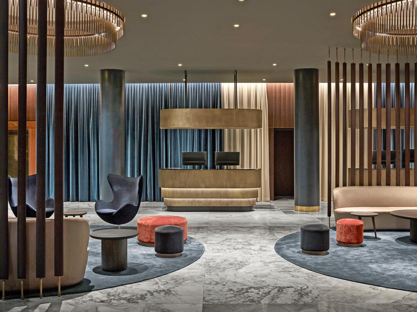 Design hotel a copenhagen livingcorriere for Top design hotels copenhagen