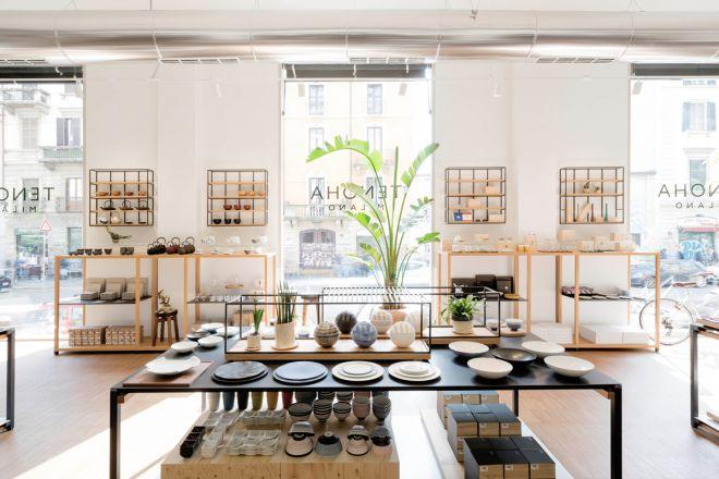 Apre il concept store tenoha il giappone a milano for Store design milano