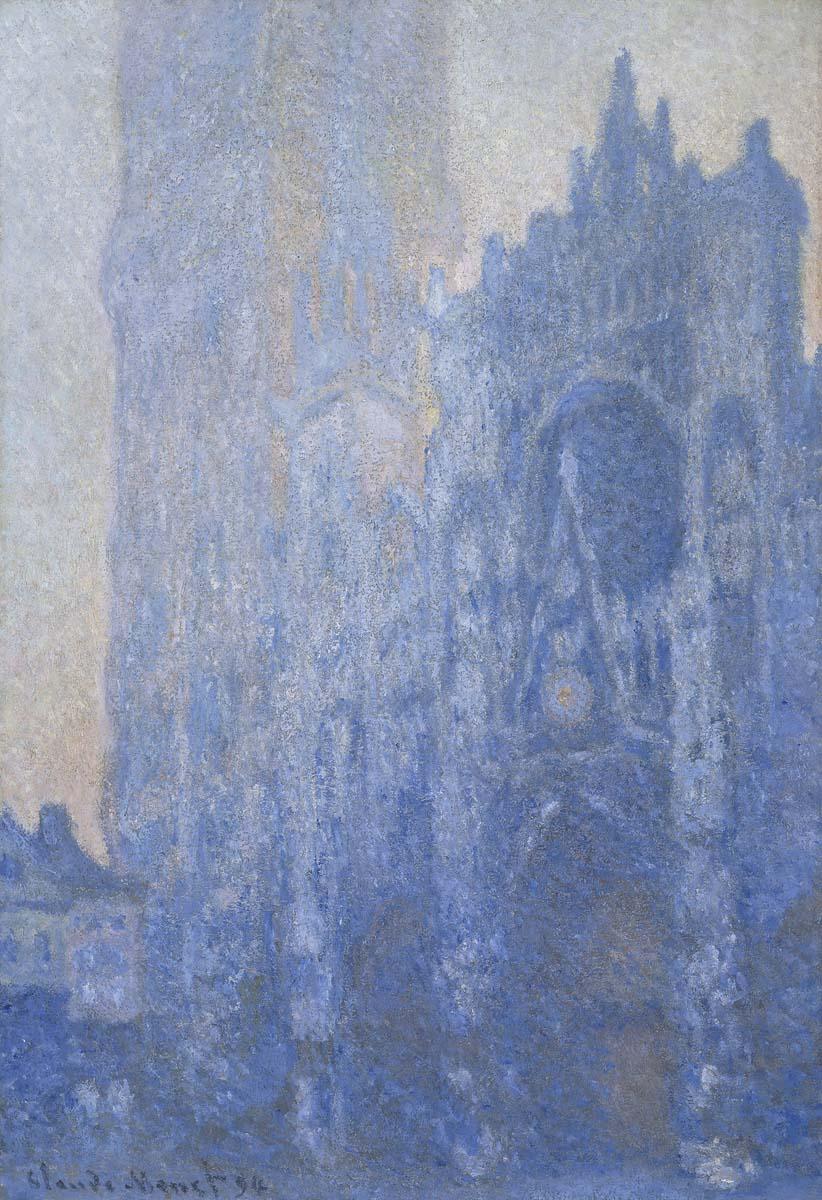 Le Portail et la tour d'Albane à l'aube, 1893-4
