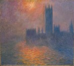 Houses of Parliament sunset, 1900-1