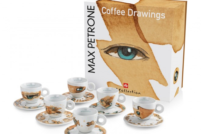 17627 Max Pertrone illy Art Collection pack 6 cappuccini