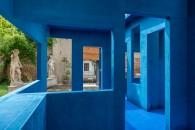 Alcantara Multiforms_Work for Alcantara, Blue Chair_Krijin de Koning