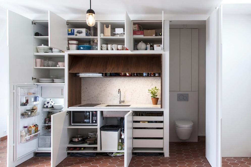 A Tiny Paris Apartment You Can Rent   Architectural Digest