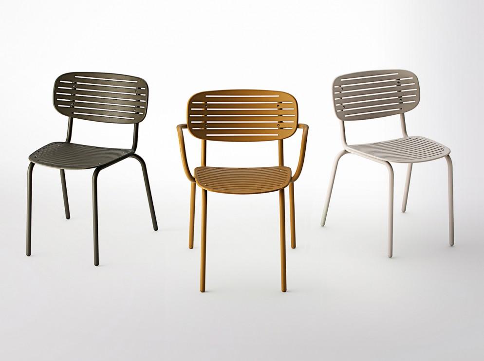 sedie da esterno intrecci di stile foto 1 livingcorriere