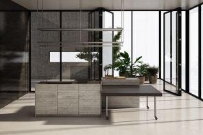 Il bancone cucina dà spettacolo