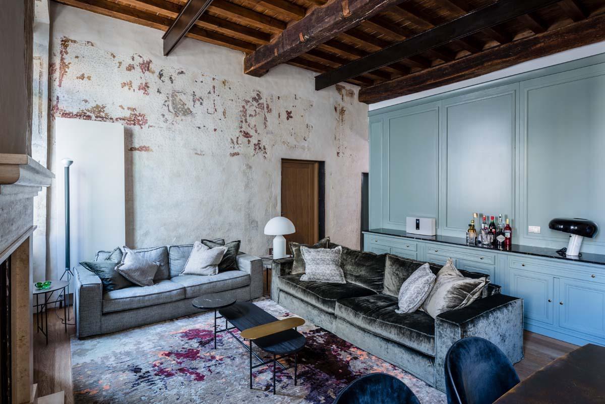 Disegni Sui Muri Di Casa arredare la storia - livingcorriere