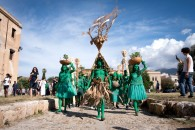Jelili AtikuFestival of the Earth, 2018. Performance. Copyright Manifesta. Photo by Francesco Bellina