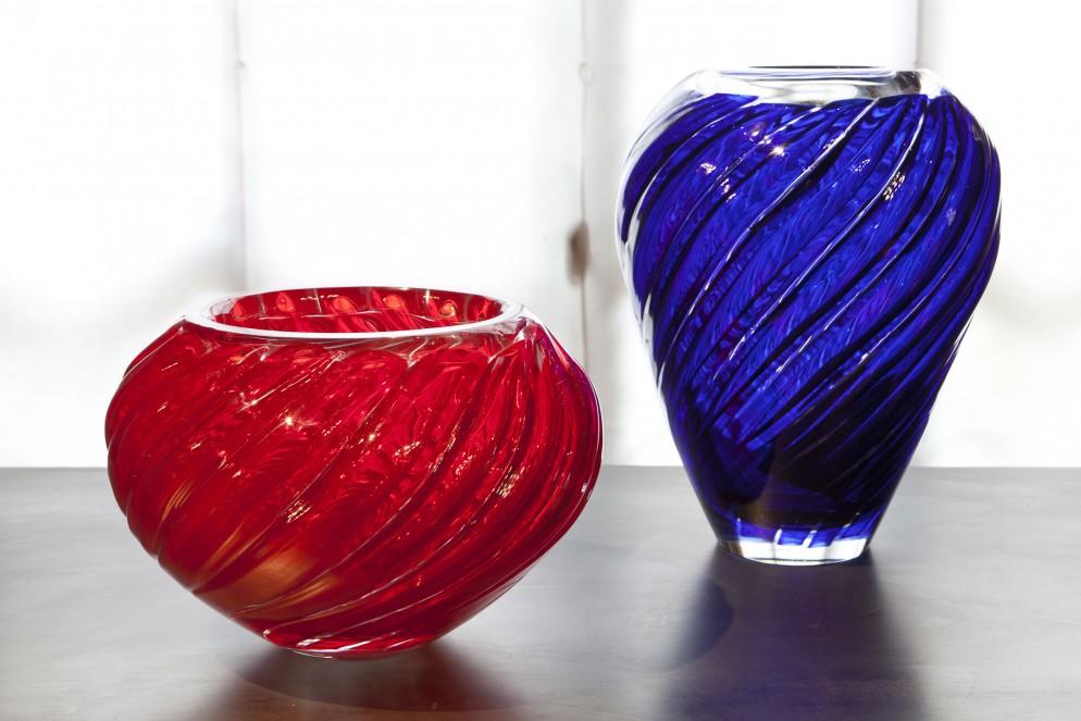01-Museo-del-Vetro,-Mario-Bellini-per-Murano,-2012_Vasi-'CANNETI'_Orizzontale-(©-Mario-Bellini-per-Venini-Spa)