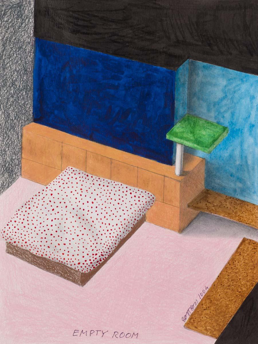 05_Ettore Sottsass, Empty Room, 2004 - © Artcurial