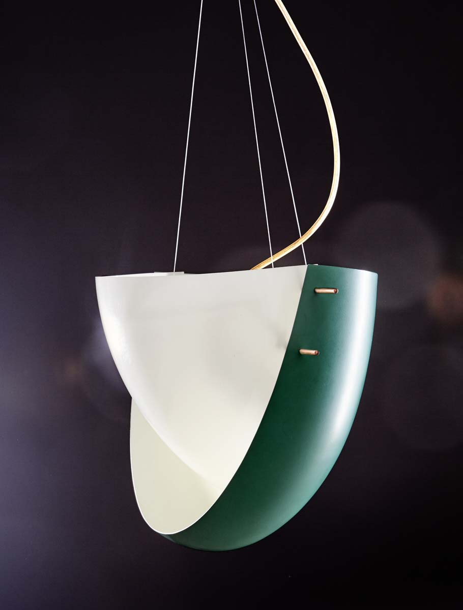 11_Suspension 'Hanging Light', circa 1957 - Ettore SOTTSASS - 1 - © Artcurial