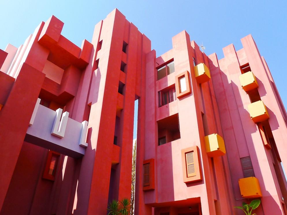 Muralla Roja - Ricardo Bofill