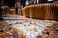 The floor is shown in the Starbucks Reserve Roastery in Milan, Italy on Sunday, August 02, 2018. (Joshua Trujillo, Starbucks)