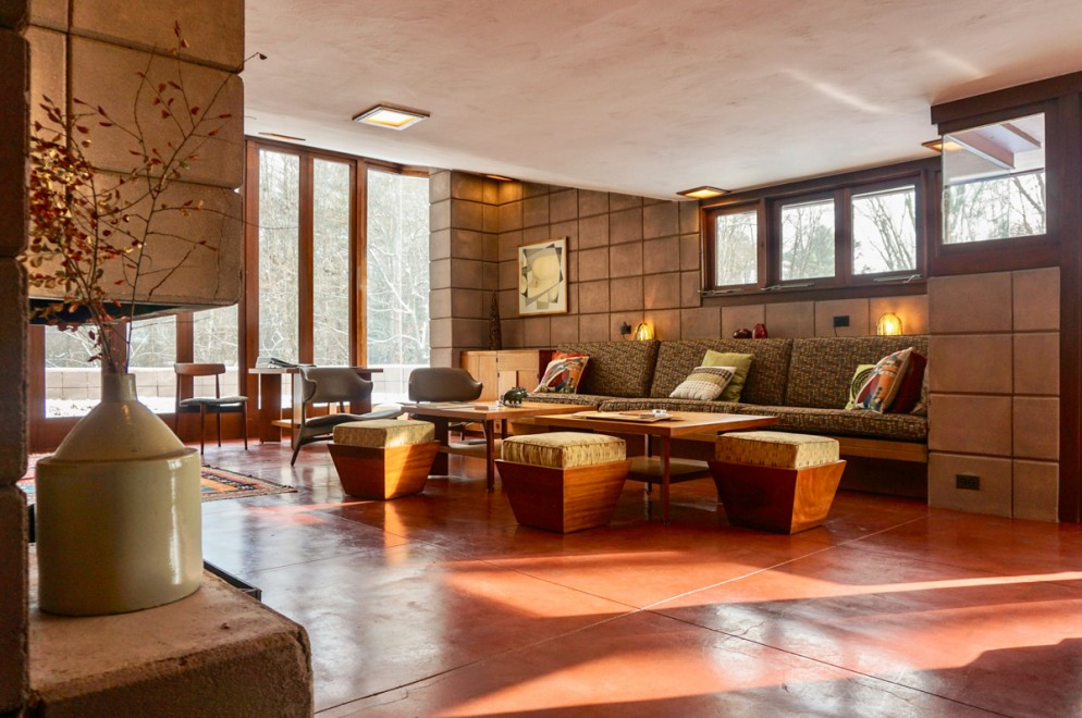 The Eppstein House - Frank Lloyd Wright