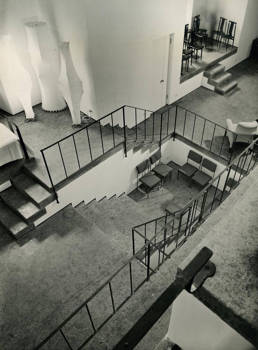 showroom gavina Milano 1960