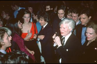 08_Warhol at Studio 54, 1978