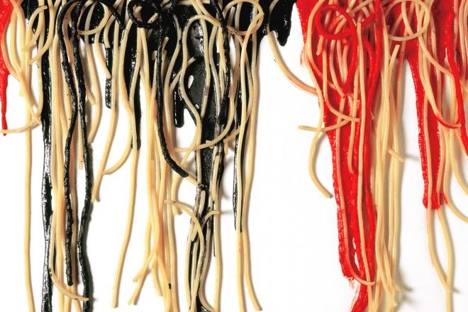 109)-Spaghetti-su-tela