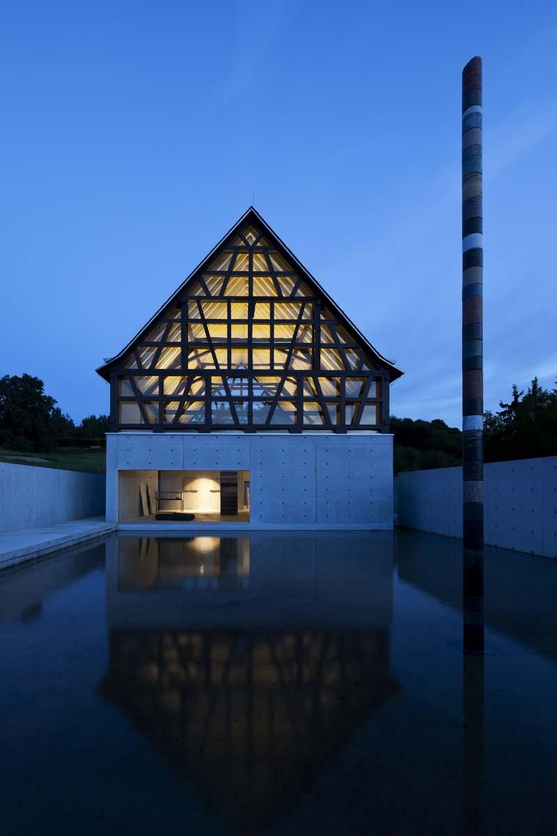 42 Fondation Kubach-Wilmsen musée de sculpture sur pierre 2010 Stone Sculpture Museum 2010 Photo Shigeo Ogawa