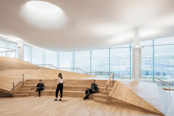 Helsinki Central Library by ALA Architects, © Tuomas Uusheimo
