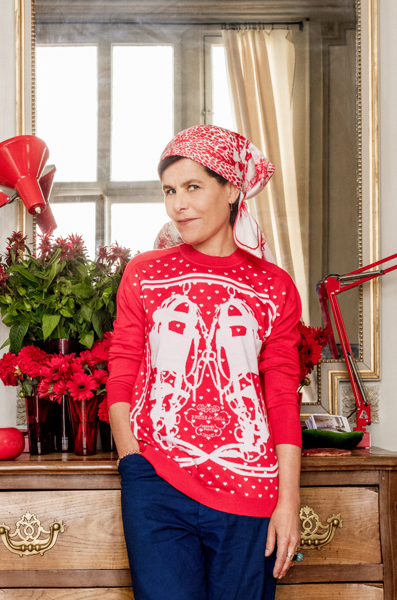 Bali Barret_ direttore artistico collezioni donna Hermès_copyright Matthieu Salvaing