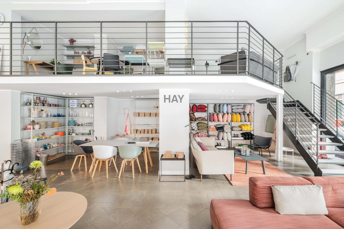 Hay a milano il primo negozio italiano apre da design for Negozi design