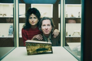 Wes Anderson e Juman Malouf a Vienna