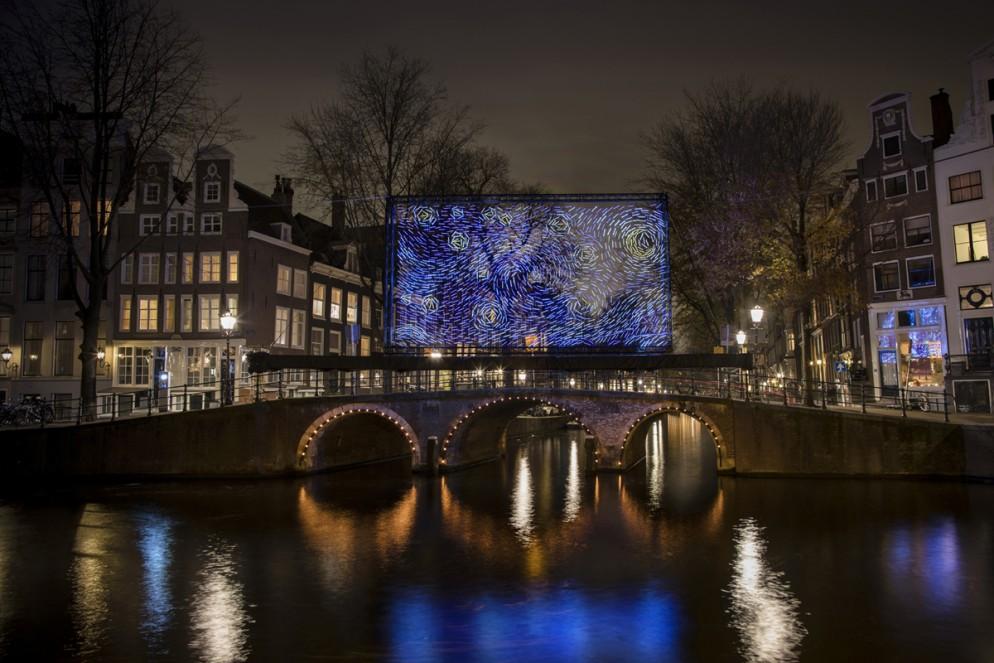 Low Res For Internet - Artists Ivana Jelić & Pavle Petrović - Starry Night - Amsterdam Light Festival 2018 - Photo Copyright Janus van den Eijnden