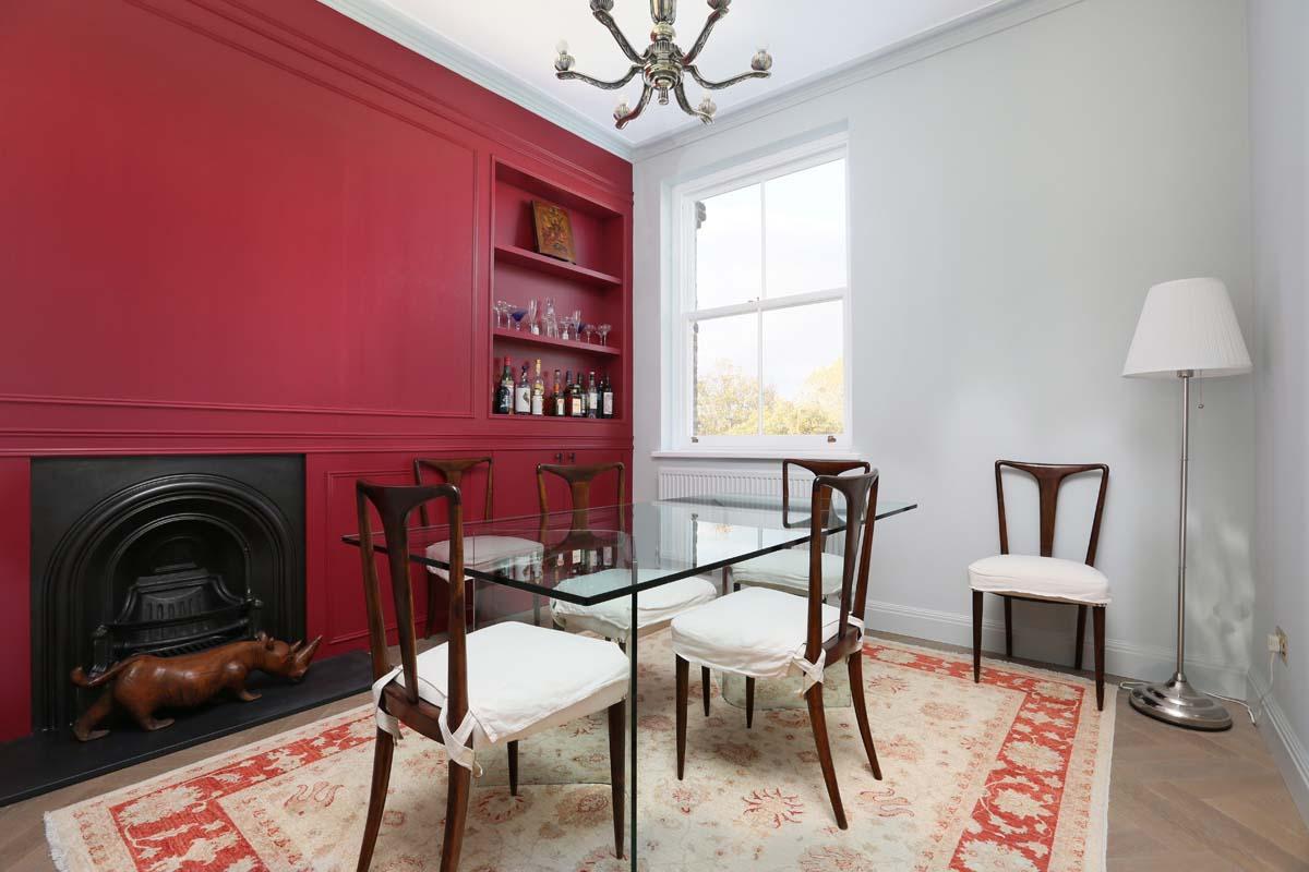 Idee per pareti bicolore per la casa