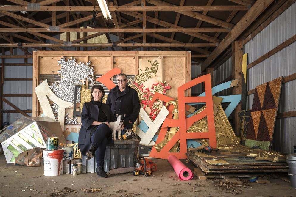 24_Anya Sirota and Jean Louis Farges in the Akoaki studio_©Jacob Lewkow