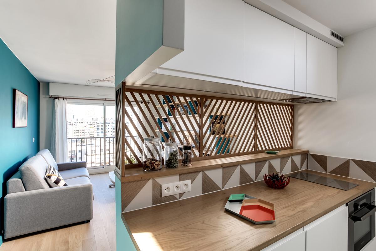 La cucina in 30 mq: 3 modi per nasconderla - Foto