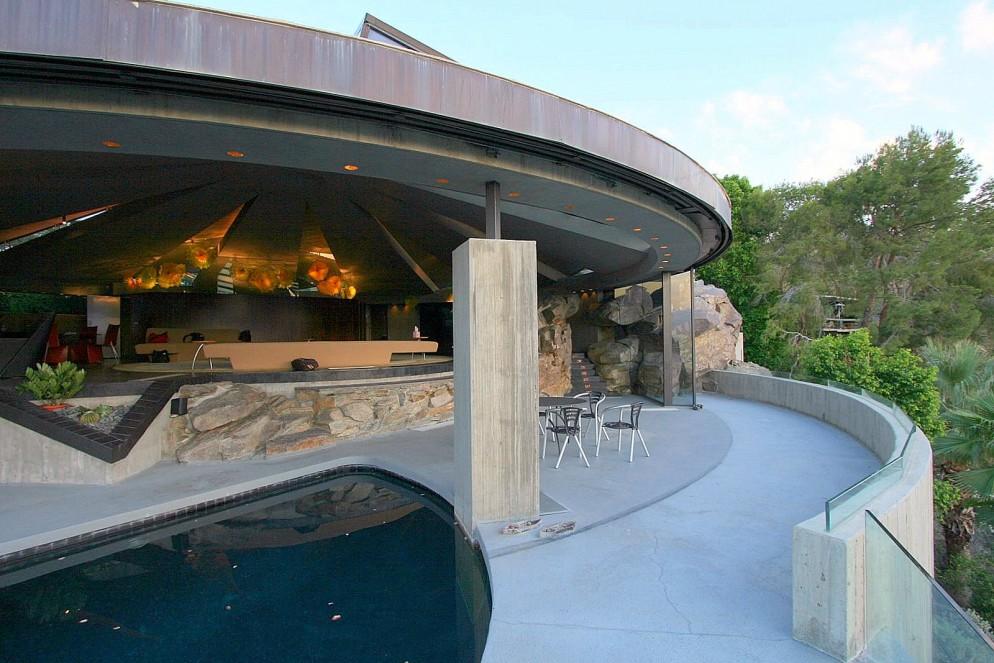 12 - John Lautner – ELROD HOUSE – FOTO esterno