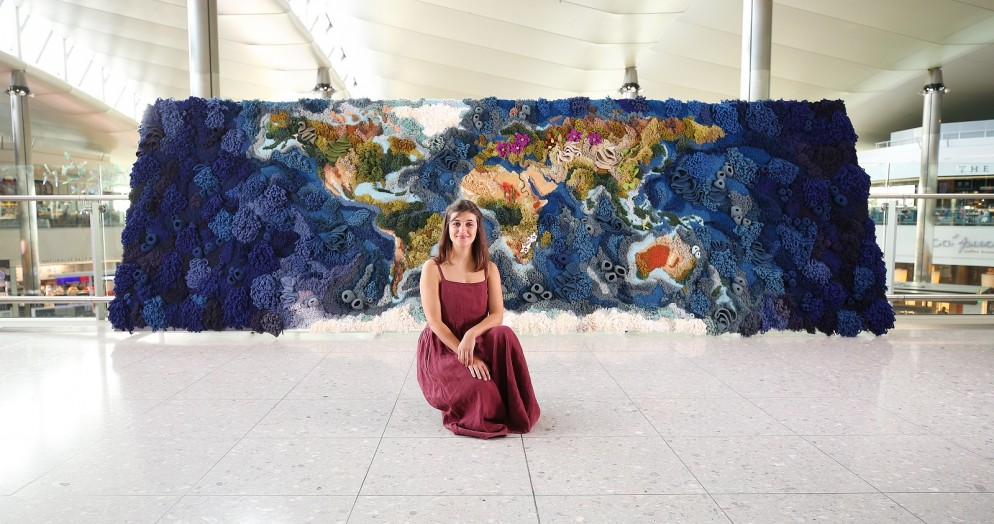 Botanical Tapestry at Heathrow, London, 17th July 2019