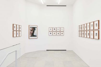 Installation view of 'Andy Warhol Polaroid Pictures' at BASTIAN, London, 2 February – 13 April 2019. Image courtesy BASTIAN, London. Photo by Luke Walker (5)