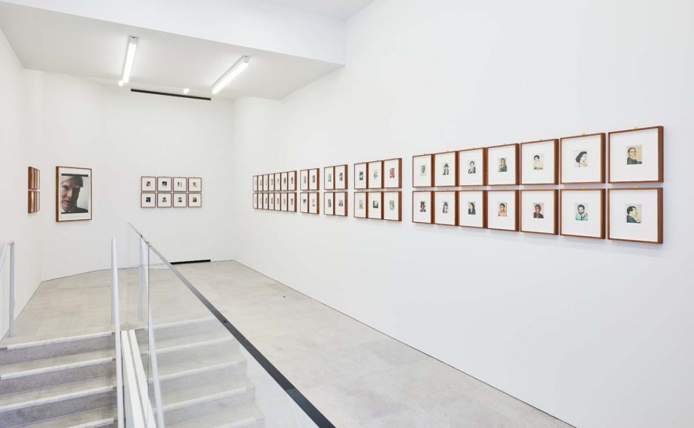 Installation view of 'Andy Warhol Polaroid Pictures' at BASTIAN, London, 2 February – 13 April 2019. Image courtesy BASTIAN, London. Photo by Luke Walker (3)