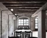 LA GANEA MABB - tavoli con sedie osteria rivisitate