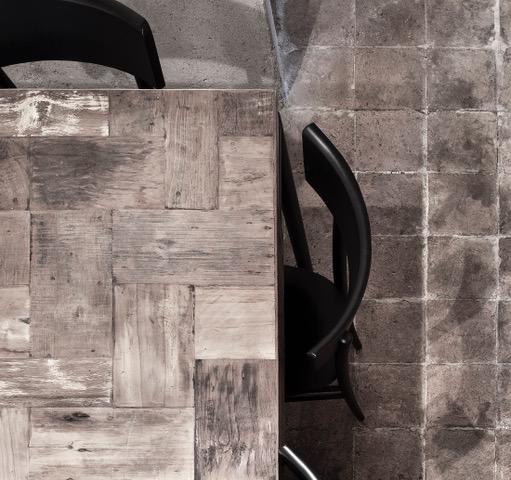 LA GANEA MABB - tavolo legno e pav cotto