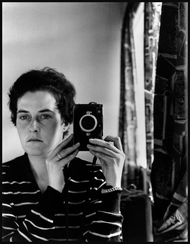 ISRAEL. Jerusalem. 1958. Inge Morath, Austrian photographer. Self-portrait.