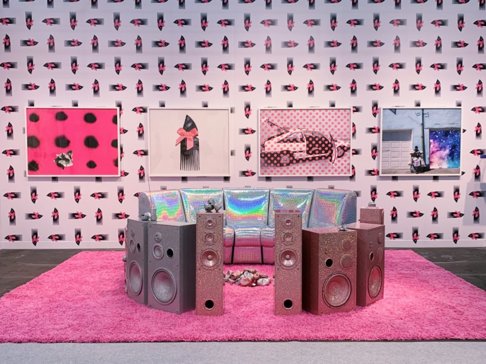 7.armory-show-2019-Sadie Barnette Charlie James Gallery Presents Prize by Grace Halio