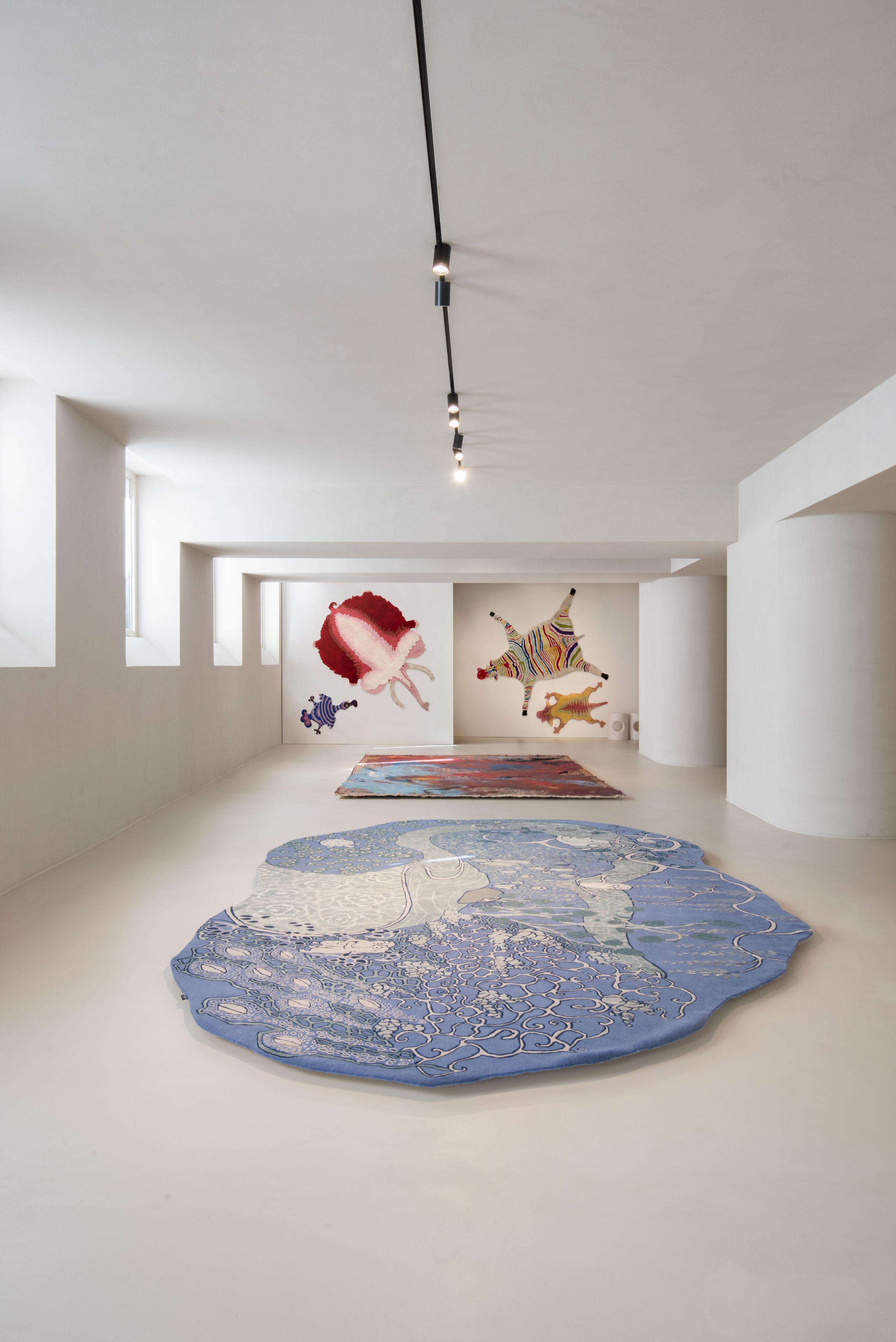 I tappeti degli haas brothers in mostra da amini a milano livingcorriere - Tappeti persiani milano ...