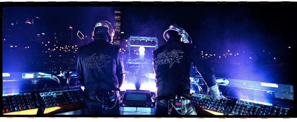 Daft Punk, alive 2007, Image DJ Falcon © Daft Trax