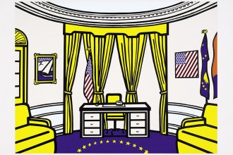 RL 3777_The Oval Office, 1992