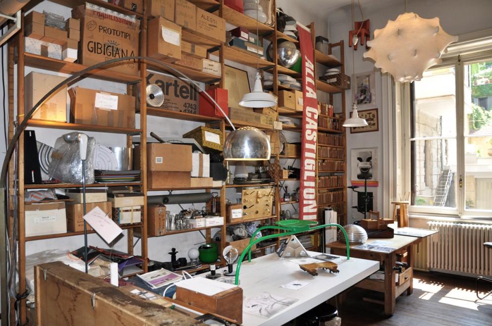 Stanza dei prototipi © Archivio Castiglioni