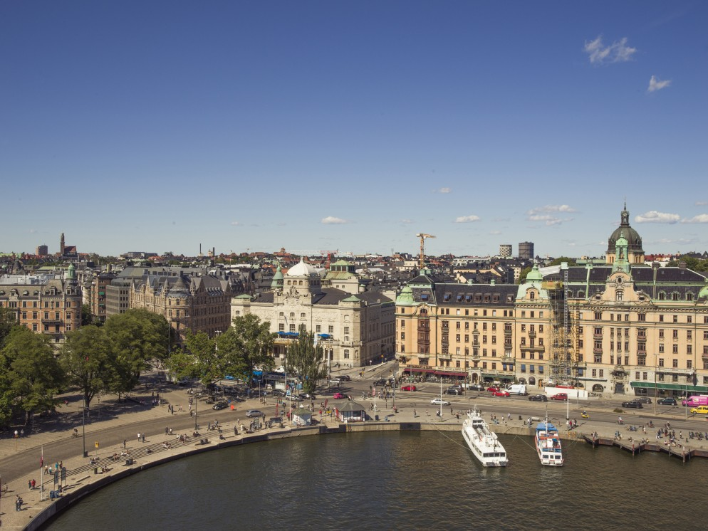 The view from Radisson Collection Hotel, Strand Stockholm. Photo - Rickard L. Eriksson.