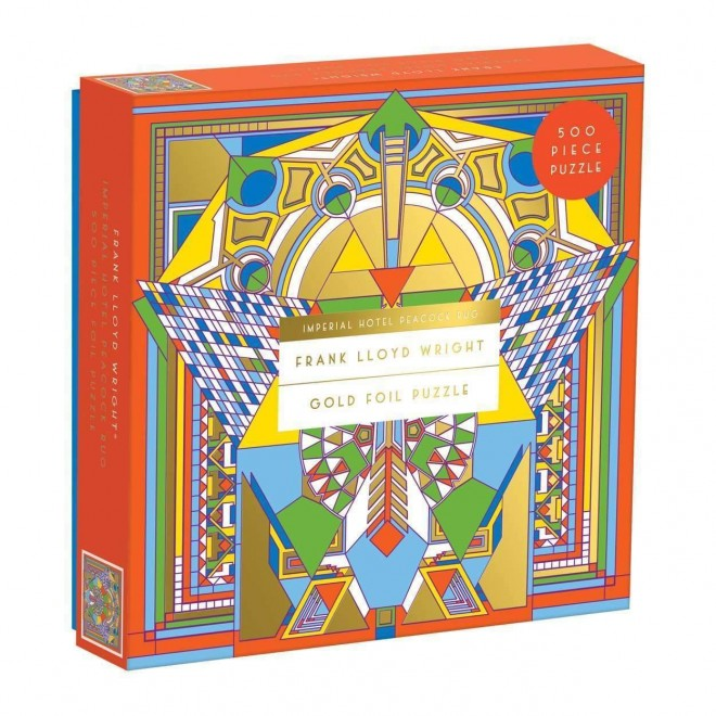 frank-lloyd-wright-imperial-hotel-peacock-rug-500-piece-foil-puzzle-puzzles-9780735357815-galison_955