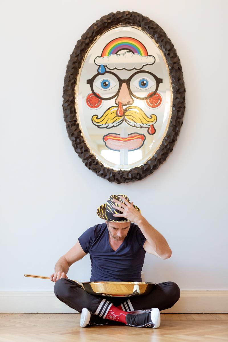 La casa-atelier milanese del fondatore di Studio Job - Foto