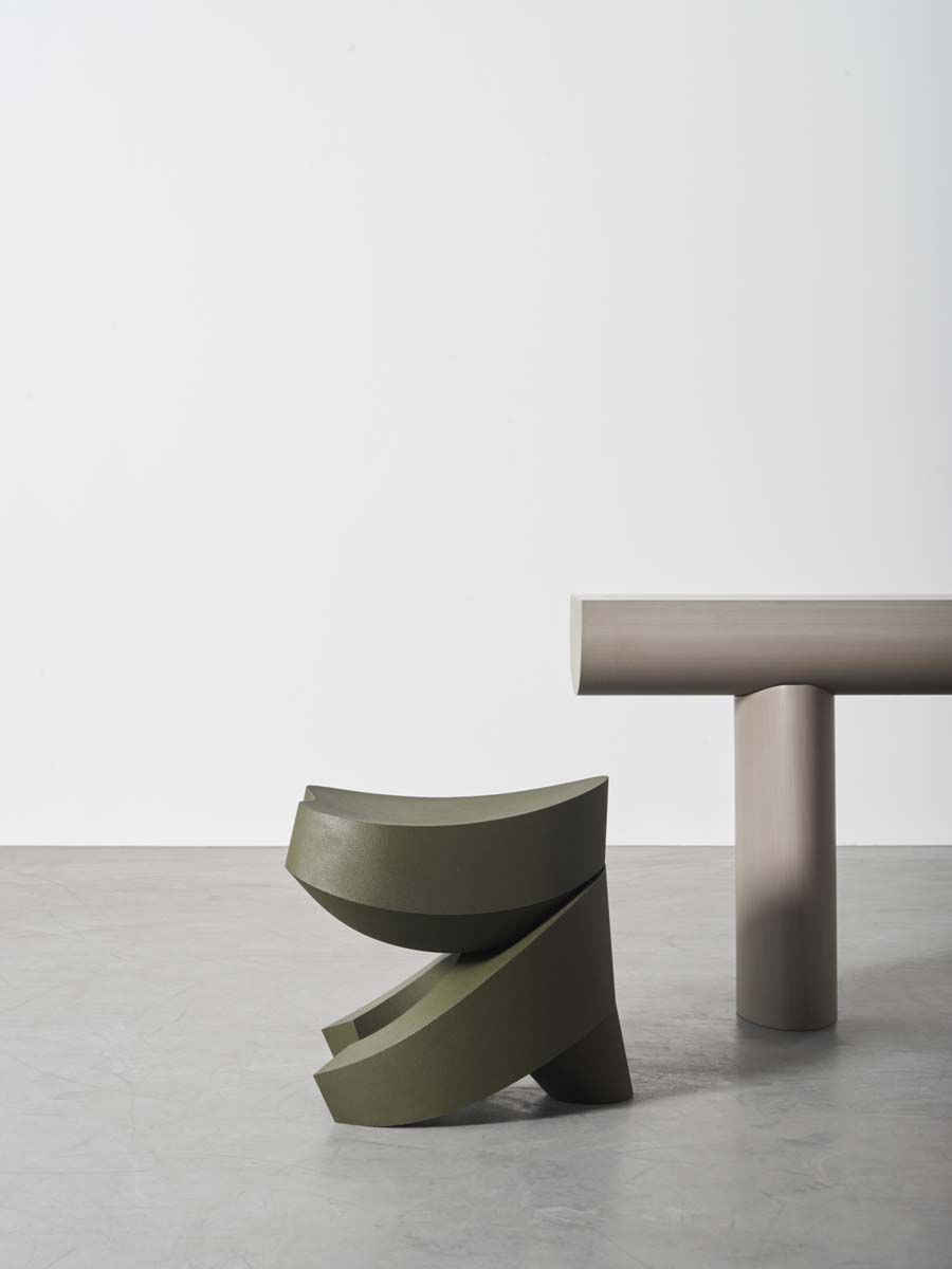 BAKKER_Weight Wait (Urushi Ishimeji)_Console Table (Stone)_01